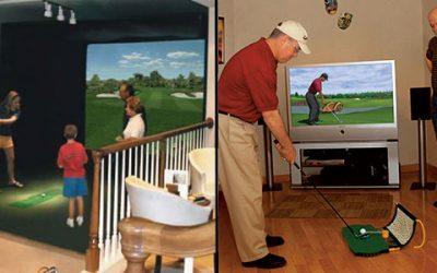 golf simulators for home