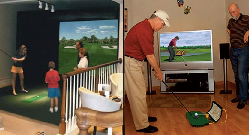 golf simulators for home
