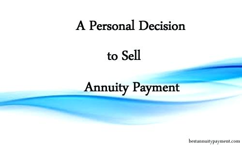 sell my annuity payments